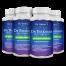 4 x bottles melatonin capsules 4mg