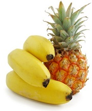 pineapple banana natural melatonin